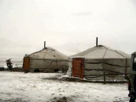 Mongolia gers