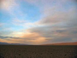 Mongolia open sky