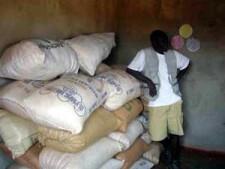 Zambia food bank