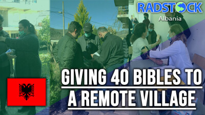 40 People Are Given Bibles In A Remote Albanian Village